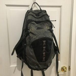 Kelty Range Black Gray Hiking Travel Backpack